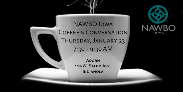 NAWBO Iowa Coffee & Conversation JAN 23