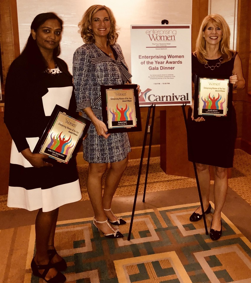 2018 Enterprising Women of the Year Award Winners