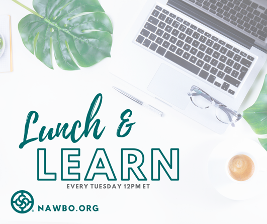 Lunch & Learn NOV 10
